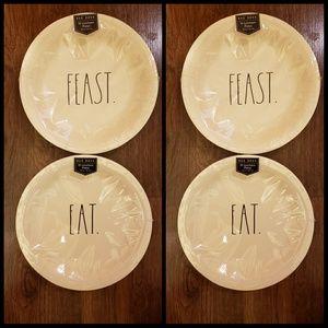 1 Rae Dunn Luncheon P aper Plates